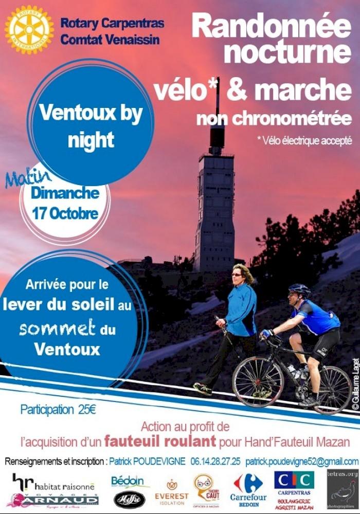 Ventoux by Night le dimanche 17 Octobre 2021