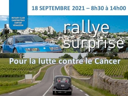 Rallye Surprise le 18 Septembre 2021