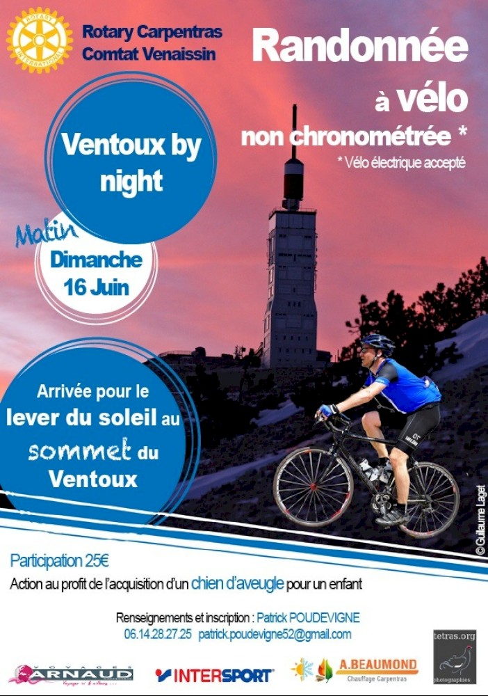 Ventoux by Night