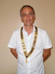 Président du rotary club Carpentras